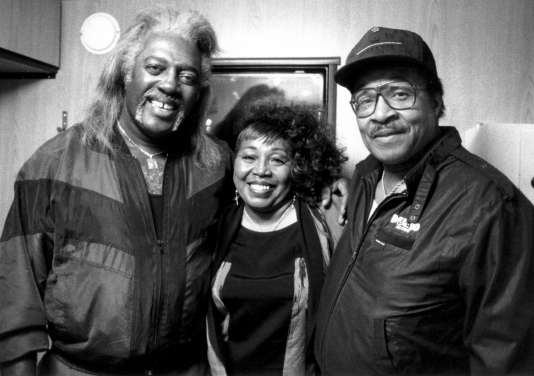 Benny Latimore, Denise LaSalle och Little Milton. Photo: Hans Ekestang