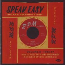 Diverse Artister - Speak Easy – The RPM Records Story Vol 2 – 1954-57