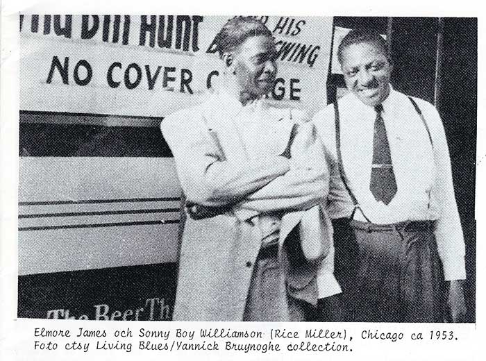 Elomore Jamrs Sonny Boy Williamson