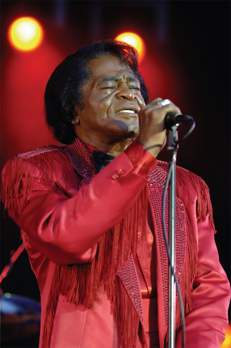 James Brown. 2006 Photo: Lars-Erik Örthlund