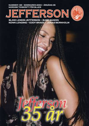 Jefferson cover issue 138 featuring Awa Manneh