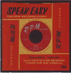 Speak Easy CD