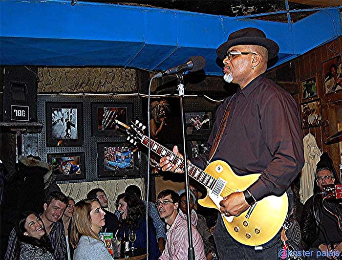 Toronzo Cannon at BLUES on Halstead